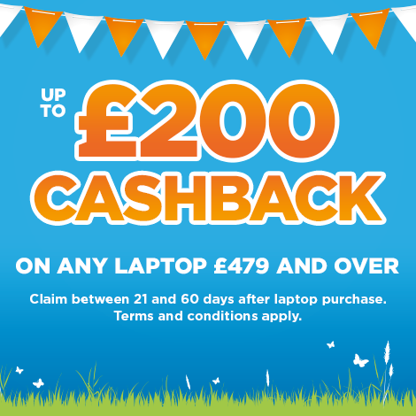 Currys PC World MacBook & Laptop Cashback - GB